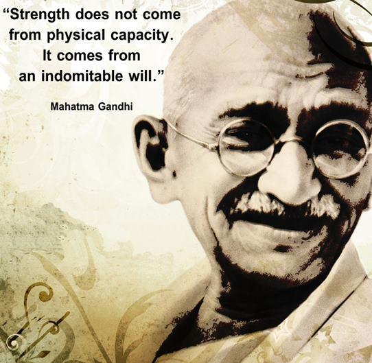 Citat Gandhi
