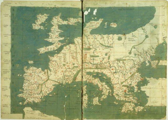 Harta Europei in perioada Renascentina